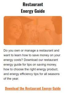 Restaurant Energy Guide